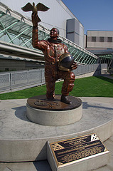 Statue of Lt. Col. Anderson