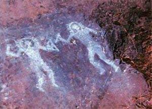 Petroglyphs from Val Camonica, Italy
